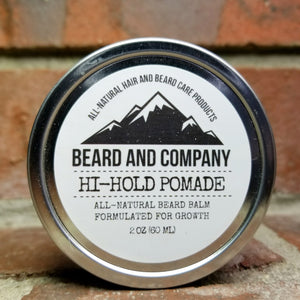 all natural pomade with high hold