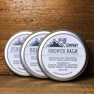 formulated beard balm bundle