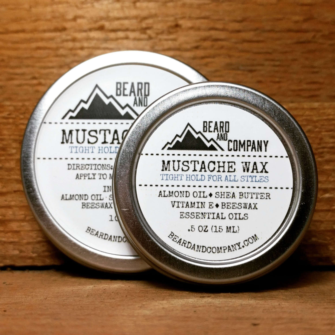 all natural mustache wax