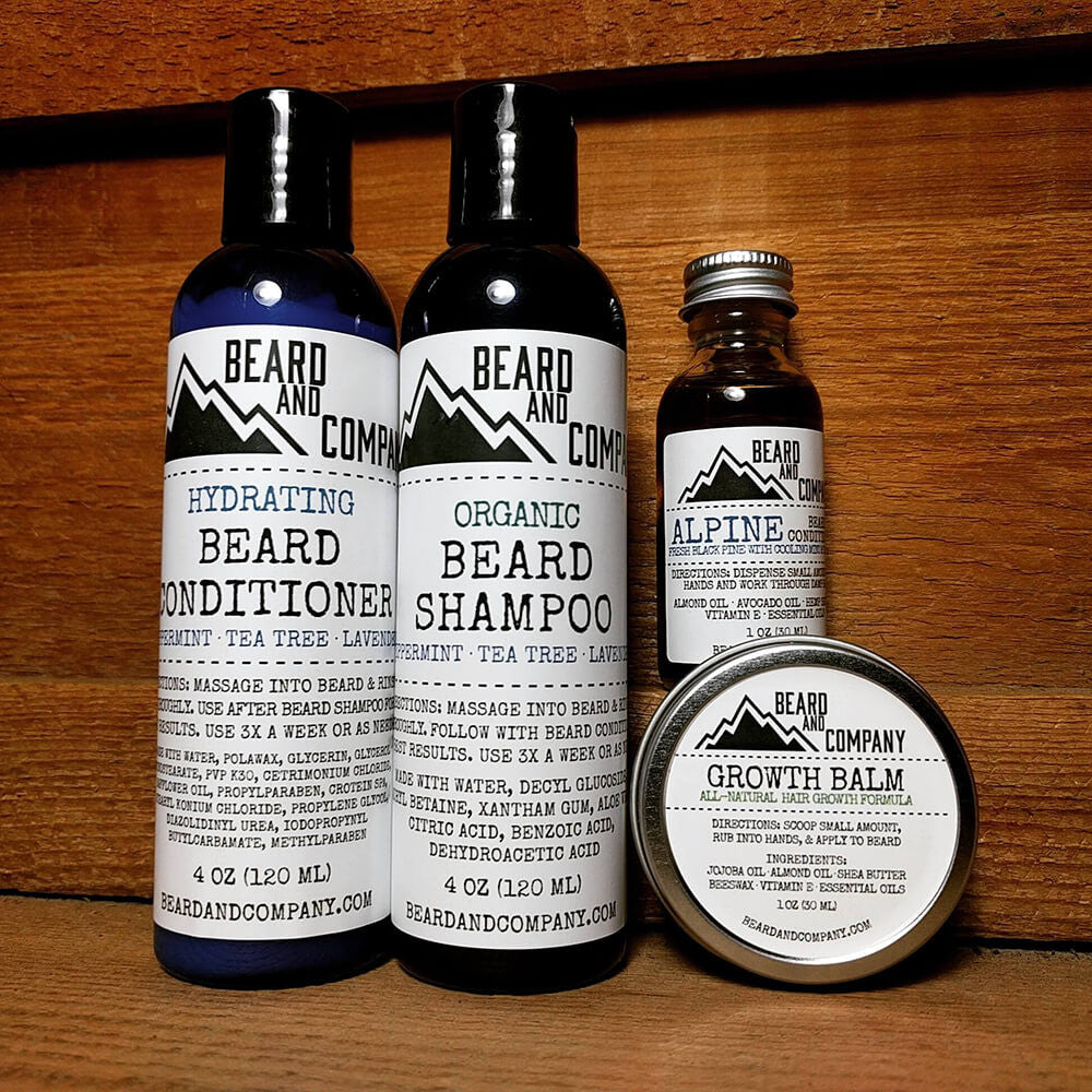 essential beard grooming kit