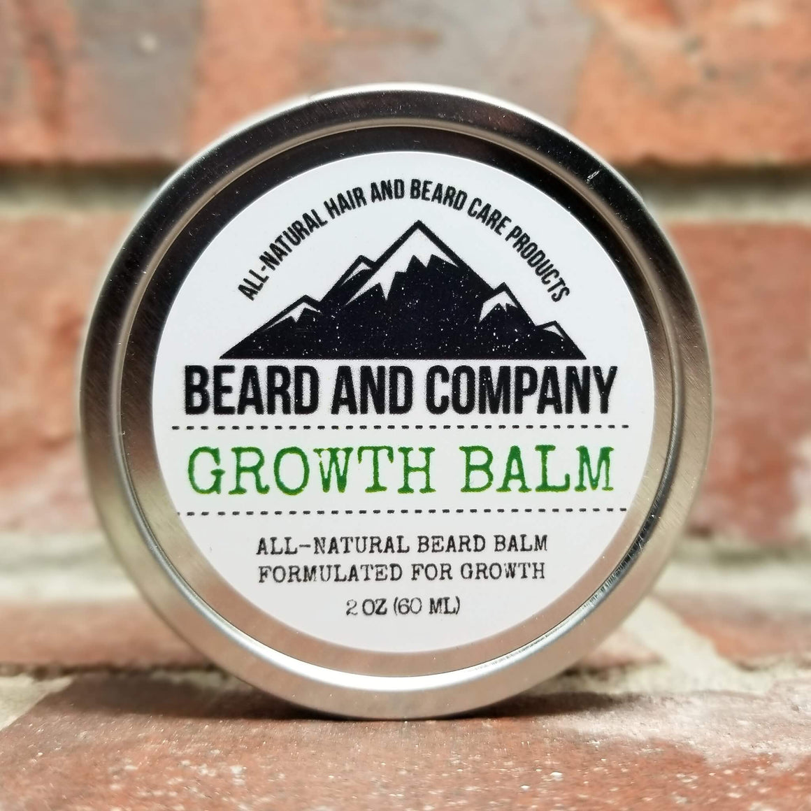 all natural beard balm with beard growth formula