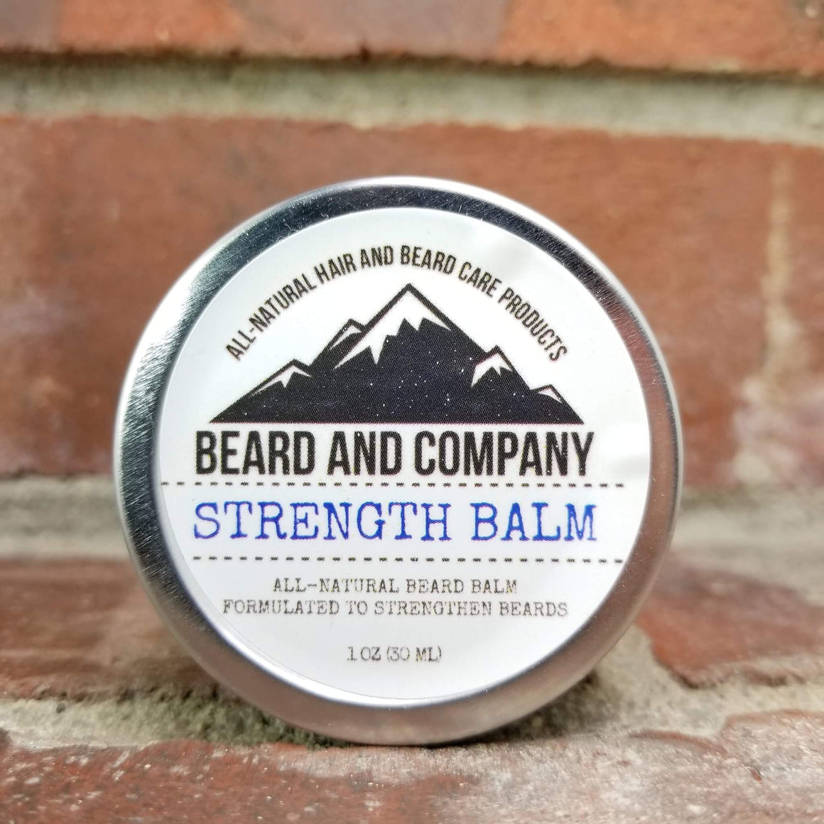 strengthening beard balm made in Colorado
