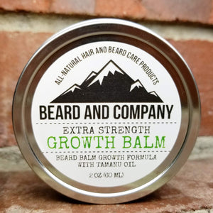 extra strength beard growth balm