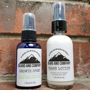 oil free beard care products gift set
