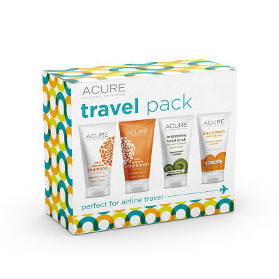 Acure Travel Pack - Perfect for Airline Travel
