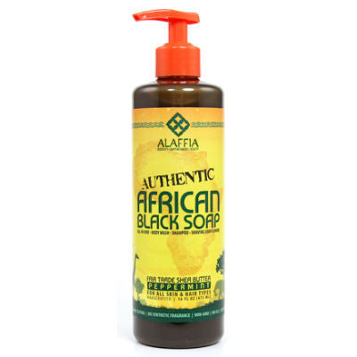 Alaffia African Black Soap 475mL