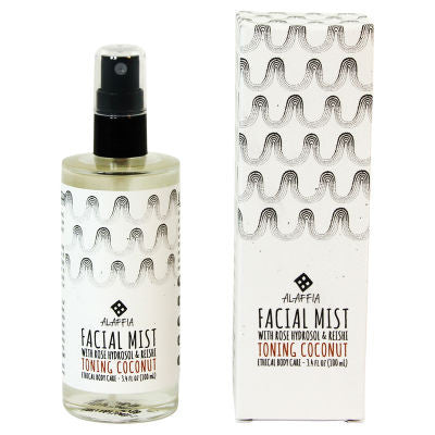 Alaffia Facial Mist 100mL Toning Coconut