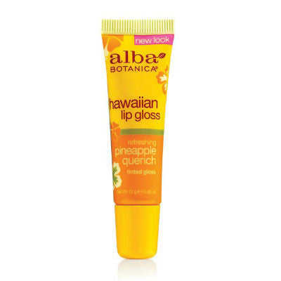 Alba Hawaiian Pineapple Quench Clear Lip Gloss
