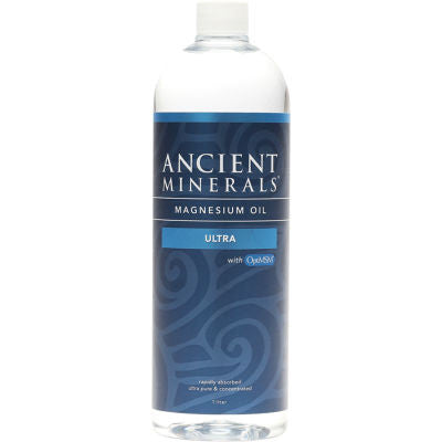 Ancient Minerals Ultra Magnesium Oil Plus MSM
