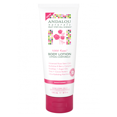 Andalou Naturals Body Lotion 1000 Roses