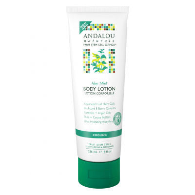 Andalou Naturals Body Lotion Cooling Aloe Mint 236mL