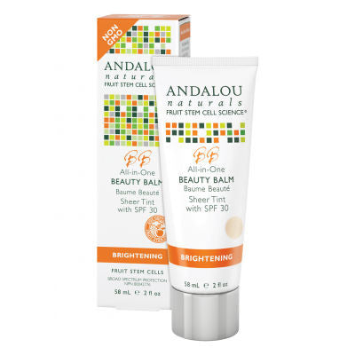 Andalou Naturals Beauty Balm Sheer Tint with SPF30 58ml