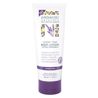 Andalou Naturals Body Lotion Lavender Thyme 236ml