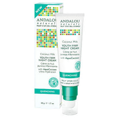 Andalou Naturals  Coconut Youth Firm Night Cream