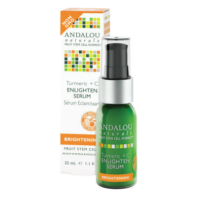 Andalou Naturals Enlighten Serum 32ml Brightening Turmeric + C