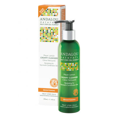 Andalou Naturals Creamy Cleanser 178mL Meyer Lemon
