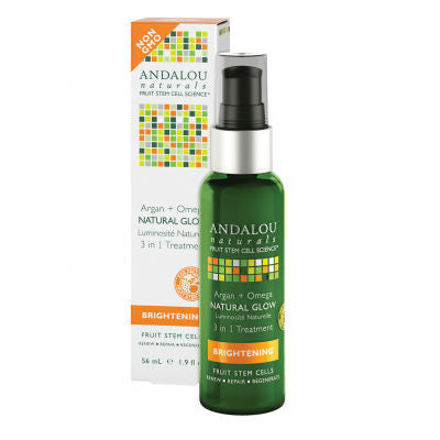 Andalou Naturals Natural Glow 3 in 1 Treatment
