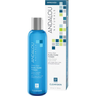 Andalou Naturals Pure Pore Toner with Willow Bark