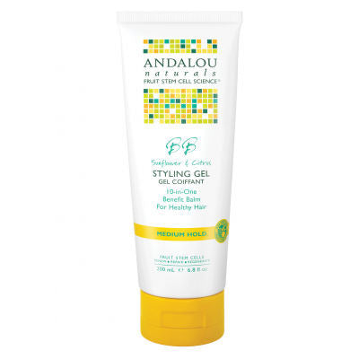 Andalou Naturals Styling Gel 200mL Medium Hold