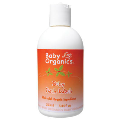 Baby Organics Baby Bath Wash 250mL ACO 77%