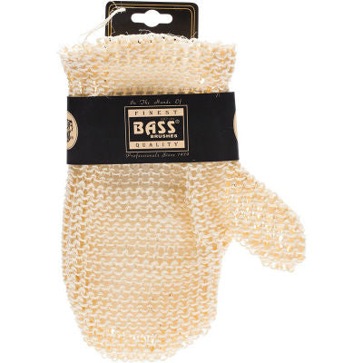 Bass Body Care Sisal Deluxe Hand Glove