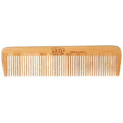 Bass Brushes Bamboo Wood Hair Comb