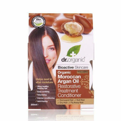 Dr Organic Moroccan Argan Oil Restorative Treatment Conditioner 200mL