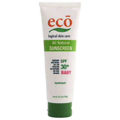 Eco Logical Skin Care Natural Sunscreen SPF 30+ 100g Baby