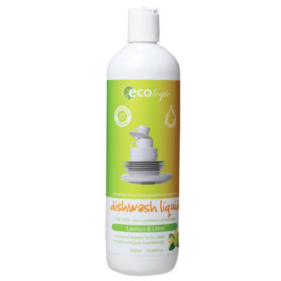 ECOlogic Dishwashing Liquid 500ml Lemon & Lime