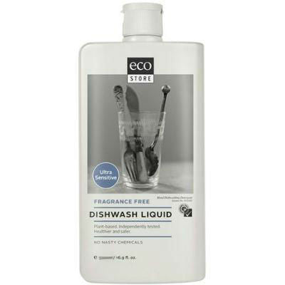 Ecostore Dishwashing Liquid 1L Fragrance Free