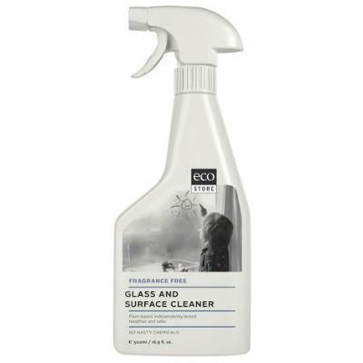 Ecostore Glass & Surface Cleaner 500mL Fragrance Free