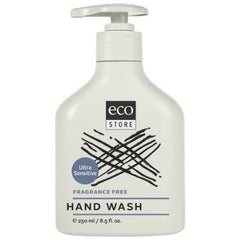 Ecostore Hand Wash 250mL Fragrance Free