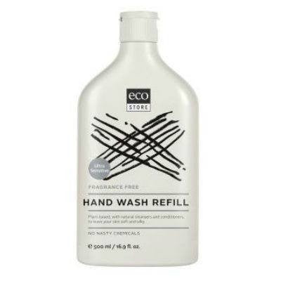 Ecostore Hand Wash 500mL Refill Fragrance Free