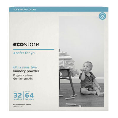 Ecostore Laundry Powder 1kg Fragrance Free