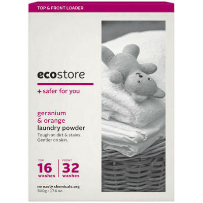 Ecostore Laundry Powder 1kg Geranium & Orange