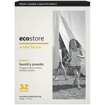 Ecostore Laundry Powder 500g Lemon (Front Loader)