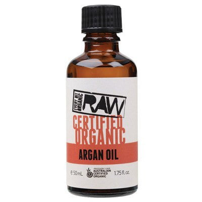 Every Bit Organic Raw Argan Oil 50mL Certified Organic