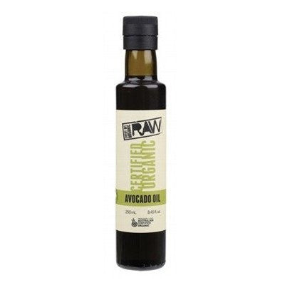 Every Bit Organic Raw Avocado Oil 250mL Certified Organic