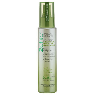 Giovanni 2chic Ultra-Moist Dual Action Protective Leave-In Spray 118mL