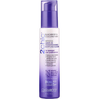 Giovanni 2chic Ultra-Repair Leave-In Conditioning & Styling Elixir 118mL