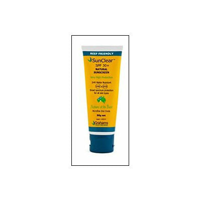 Grahams Natural Sunscreen 30+ Water Resistant 150g