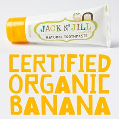 Jack n' Jill Natural Toothpaste 50g Banana Flavour