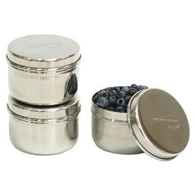 Kids Konserve Mini Stainless Steel Containers - Set of Three