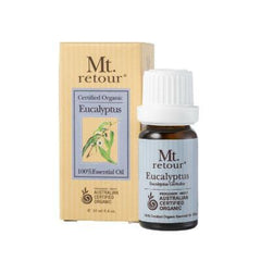 Mt. Retour Eucalyptus Certified Organic Essential Oil 10mL