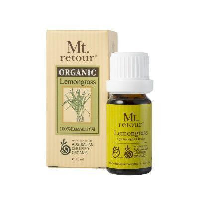 Mt. Retour Lemongrass Certified Organic Essential Oil 10mL