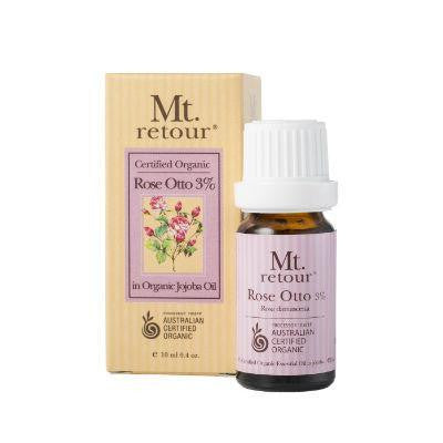 Mt. Retour Rose Otto 3% Certified Organic Essential Oil 10mL