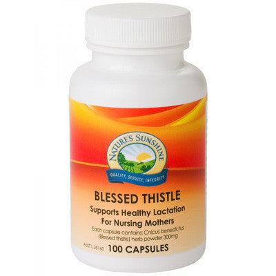Nature's Sunshine Blessed Thistle 325mg 100 Capsules
