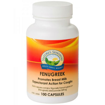 Nature's Sunshine Fenugreek Capsules
