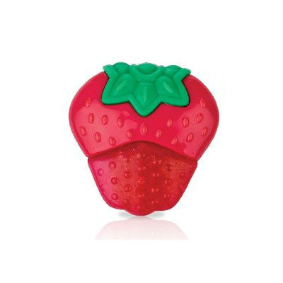Nuby Coolbite Fruit Teether Strawberry