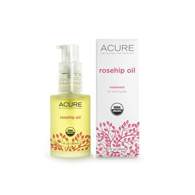 Acure Rosehip Oil 30ml Certified Organic